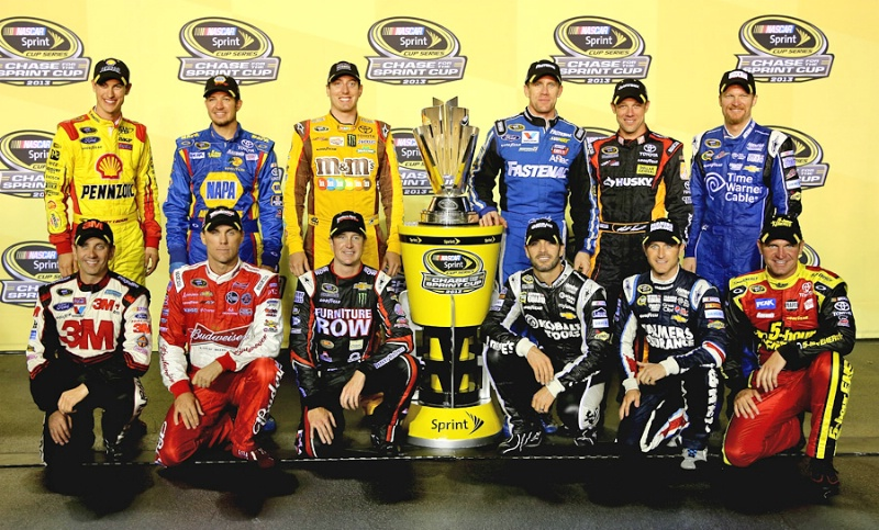which are the top competitors at nascar races and leagues