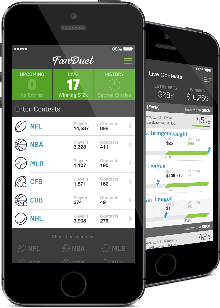 does the fanduel app have a good interface