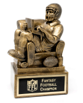 What kind of fantasy football trophies can you win?