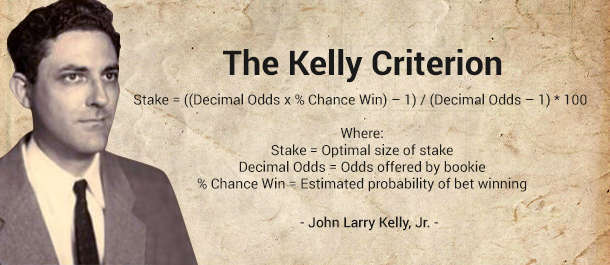 what is the formula for the kelly betting method
