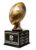 Do only winners win a Perpetual fantasy football trophie?